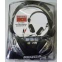 1 VE 10 X Johnystar JS- 718MV Kopfhörer Headset Mikrofon