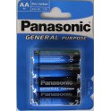 1 VE 12 X 4er Panasonic R6 AA Batterien 1,5V