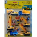1 VE 10 X Kinder Spielzeug Set Baustelle